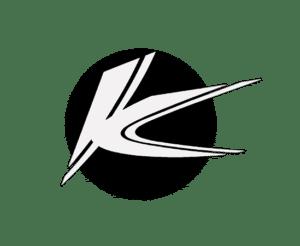 Mindre version av Krekola Trafikskolas runda logotyp